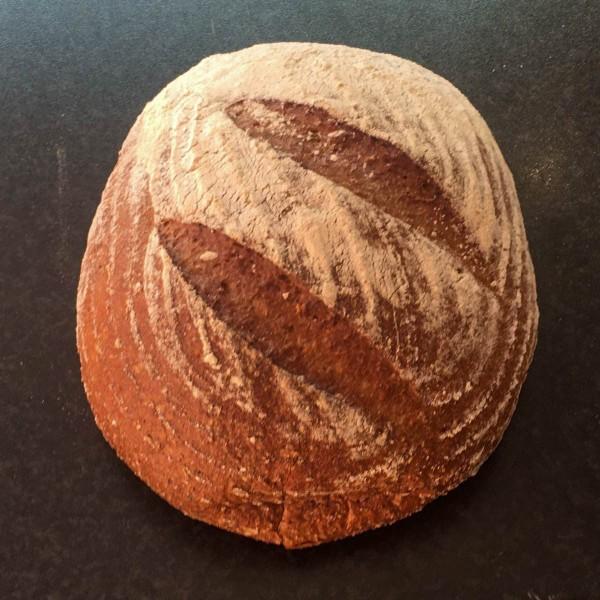 Urgetreide 6 Korn Brot mit Dinkelmehl